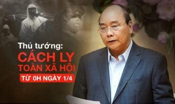 Chùm ảnh: Đà Nẵng ngày đầu thực hiện Chỉ thị 16 của Thủ tướng Chính phủ