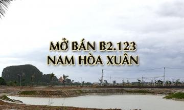 HOT : Sunland mở bán Block B2.123 khu Đầm Sen (Nam Hoà Xuân) ck 8% - Cơ hội đầu tư cuối năm