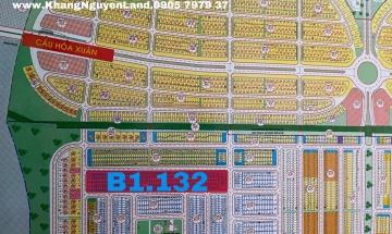 Nhận cọc thiện chí Mở bán mới Hoà Xuân Mở Rộng (Cồn Dầu) - Block B1.132