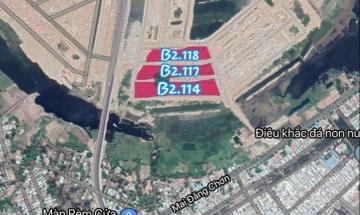 QUAN TRỌNG: Bản đồ cống trụ Khu Đầm Sen Nam Hoà Xuân - B2.114, B2.117 & B2.118