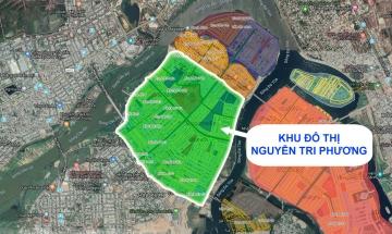 Sơ đồ - bảng giá khu đô thị Nguyễn Tri Phương