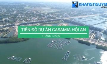 Tiến độ Dự án Casamia mới nhất: Cập nhật Tháng 07/2020